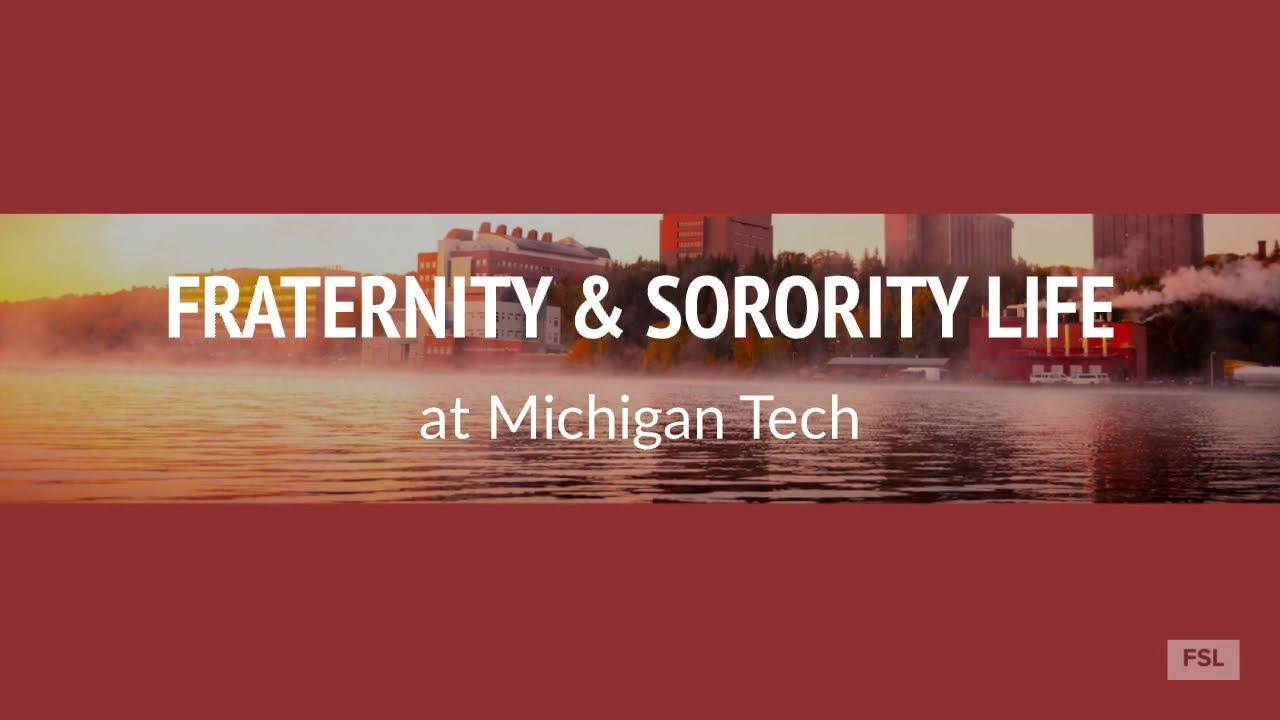 Preview image for Learn about Fraternity & Sorority Life at Michigan Tech! video