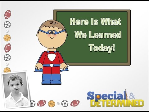 Here Is What We Learned Today Series - Time Telling Part 1 #downsyndrome