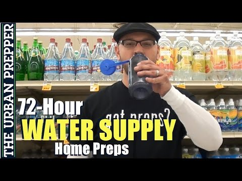 72 Hour Water Supply (Home Preps) by TheUrbanPrepper