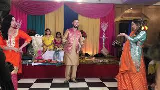 vuclip Mehndi dance aaj hai sagai