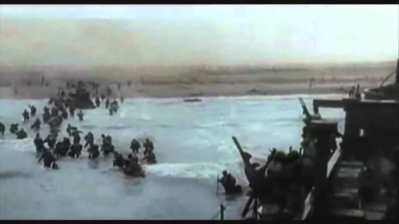 Normandy Landings Footage - D-Day - YouTube