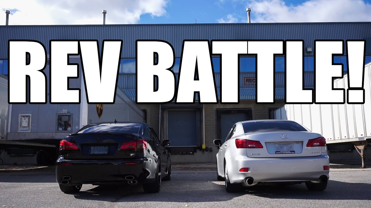 Who won? My IS350 or the ISF?