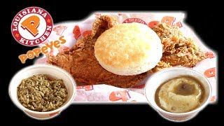 Popeye's Fried Chicken Dinner - WHAT ARE WE EATING?? - The Wolfe Pit