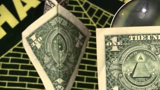 33 Masonic Symbols &Ark of Covenant on Dollar Bill Illuminatti Symbols 1of 2