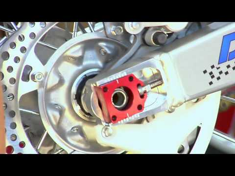 How To Install Chain Adjuster Blocks On An Off-road Motorcycle
