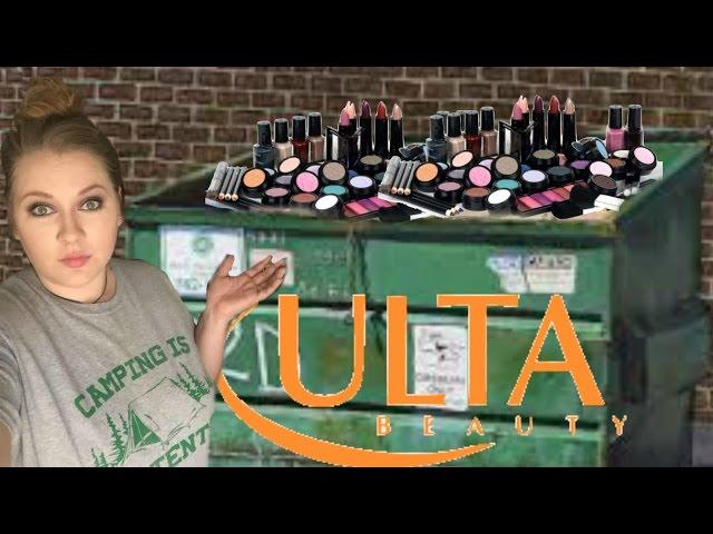 Scavengers dumpster dive for high-end makeup | wgrz com