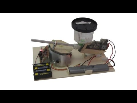 How to make a remote control airsoft turret
