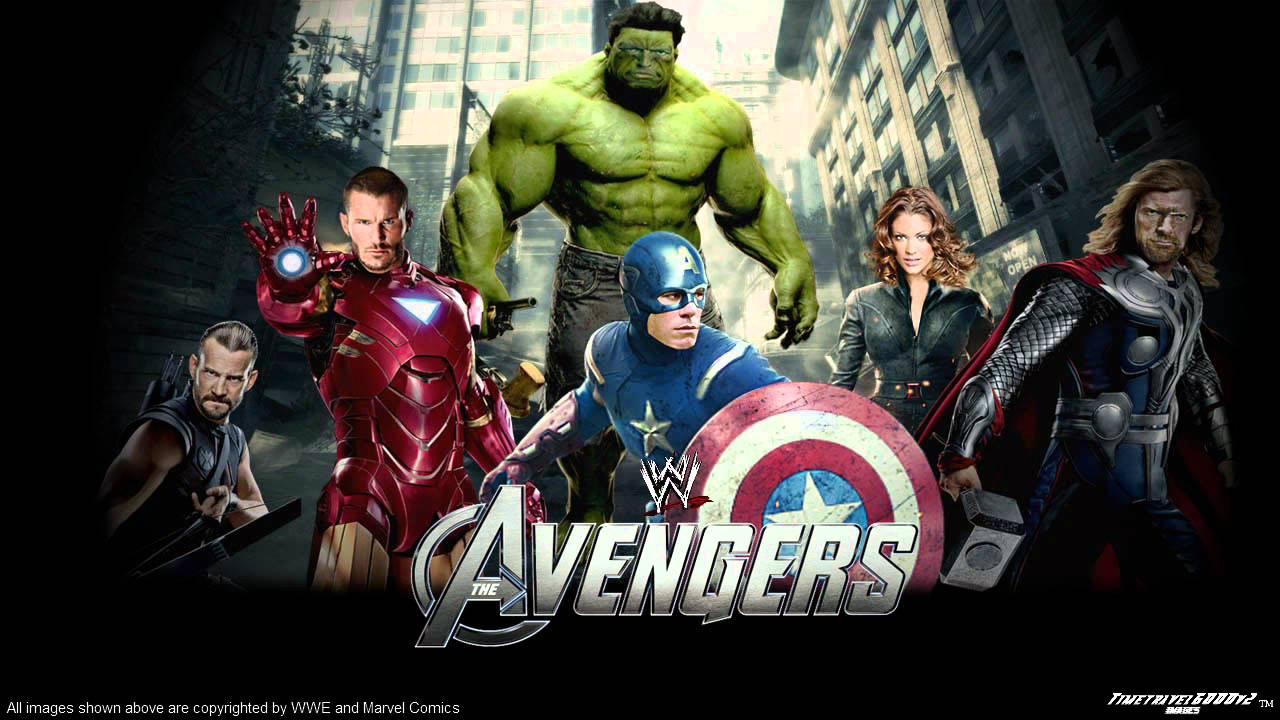 Wwe Nexus Logo Wallpaper WWE The Avengers: Eart...