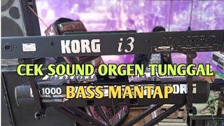 CEK SOUND ORGEN TUNGGAL KORG i3 (DELISA SALSA )