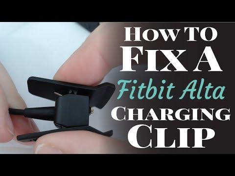 How To Fix A Broken Fitbit Alta Charging Clip