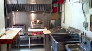 Bright Orange Fully Loaded Concession Trailer - Mobile Kitchen - Be Your Own Boss Today!