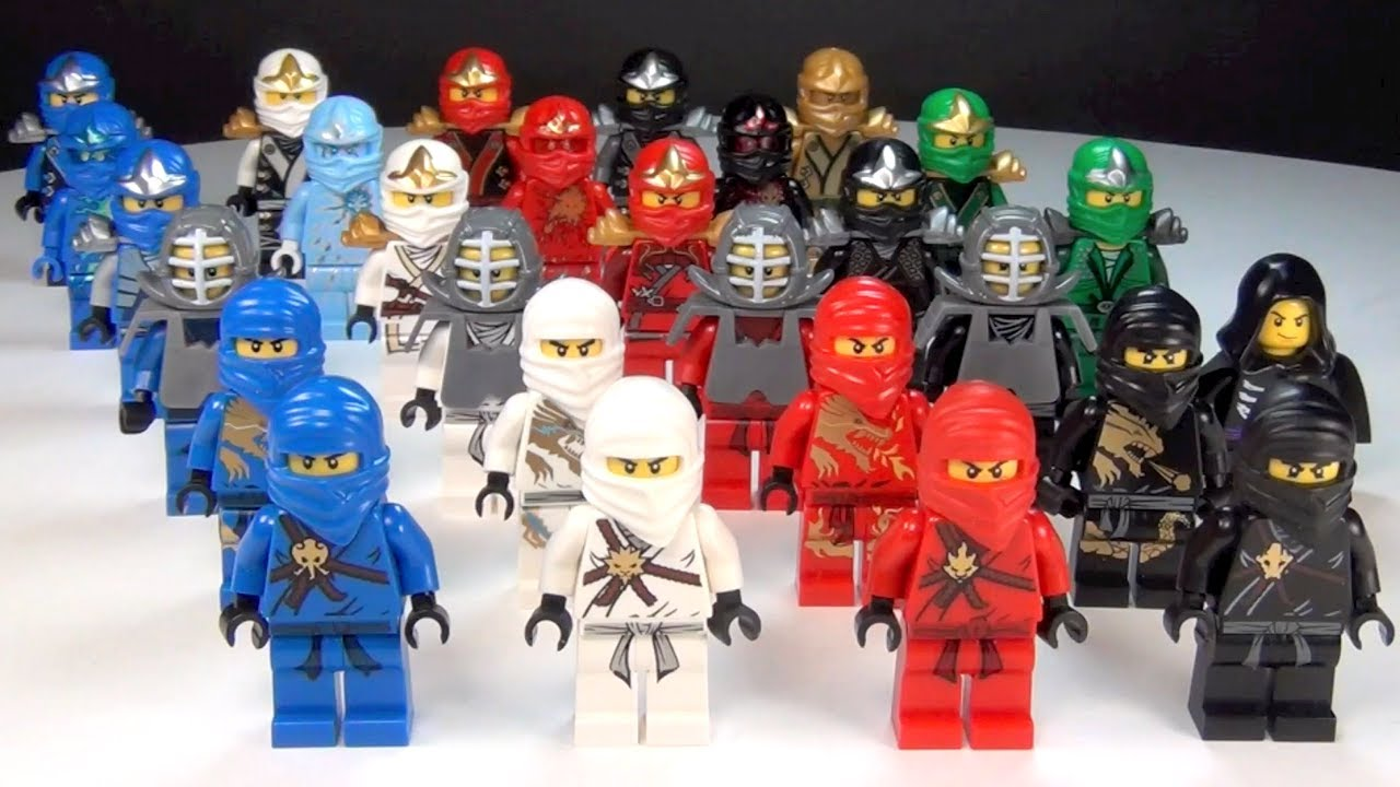 lego ninjago ultimate ninja complete collection youtube