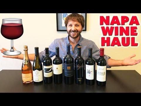 NAPA VALLEY WINE HAUL + Napa Trip Recap! (Napa Wineries To Visit)