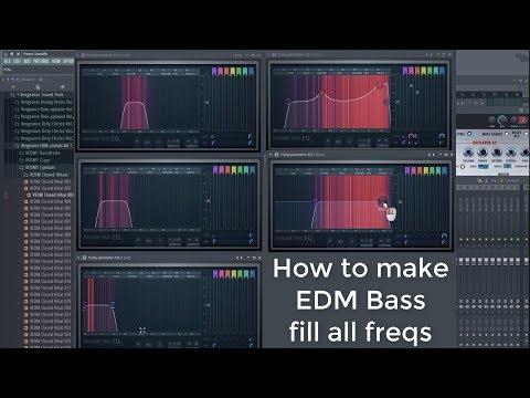 How To Make EDM Bass Sound Full