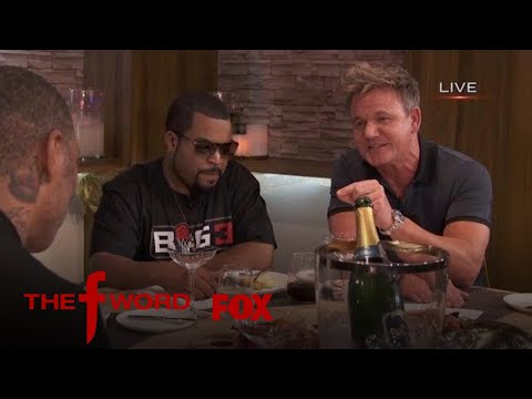 Ice Cube Stops By THE F WORD Kitchen | Season 1 Ep. 10 | THE F WORD