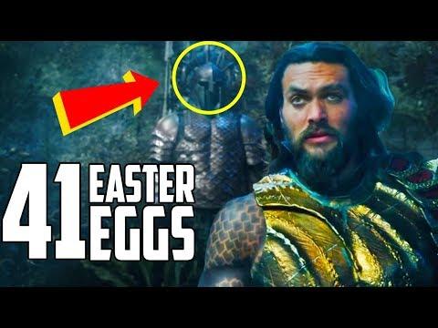 Aquaman Trailer - Every Easter Egg and Secret