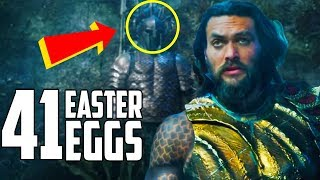 Aquaman Trailer - Every Easter Egg and Secret