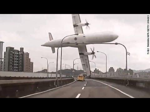 Aeroplane Crash Compilation 2015