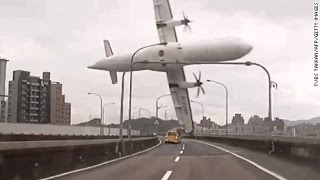 Aeroplane Crash Compilation 2015