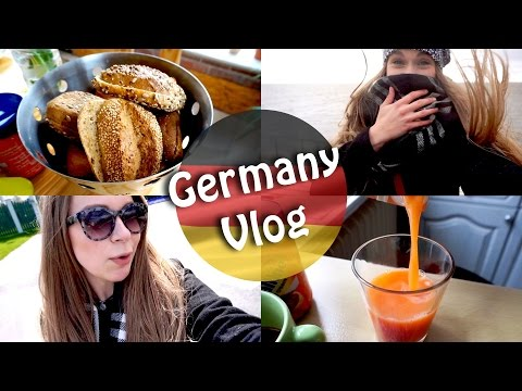 Huge Germany Vlog - Food, shopping and extreme weather!