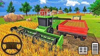 Grand Farm Harvesting Simulator 2021-농업용 트랙터 운전 3D-Android 게임 플레이
