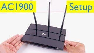 tP-Link AC1900 Smart WiFi Router - Setup - Archer A9
