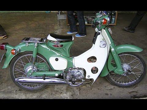 Sejarah Heboh Modifikasi Motor Honda Pitung Si Honda 70 Youtube