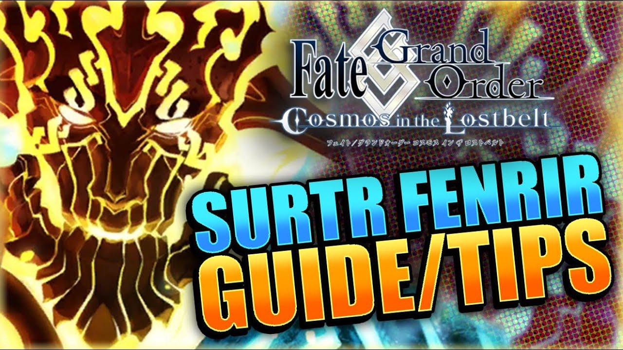 SURTR BOSS GUIDE Tips + Tricks! Fate Grand Order