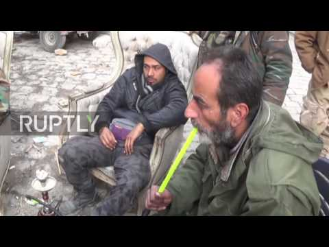 Syria: Shop owners in Aleppo's Old City prepare to return to business