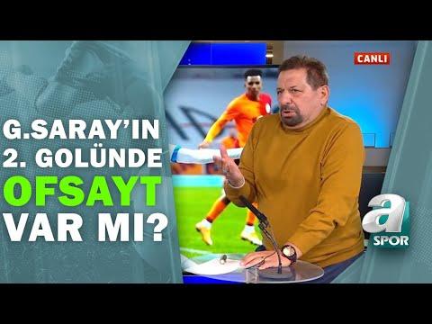 Galatasaray 2 - 0 BB Erzurumspor Erman Toroğlu Devre Arası Yorumları / A Spor