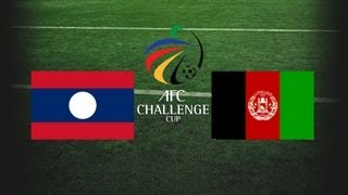 AFC Challenge Cup - Afghanistan vs. Laos - 6th March 2013