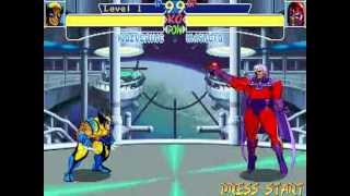 X-Men: Children of the Atom - Wolverine Playthrough