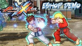 Project X Zone: Nintendo 3DS eShop Demo - Full Playthrough
