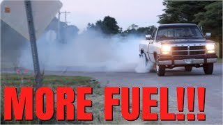 NASTY BURNOUT IN THE BEATER 12 VALVE CUMMINS!!!!(, 2018-06-16T22:00:02.000Z)