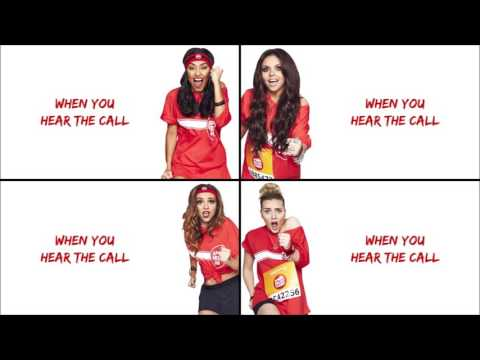 Little Mix - Word Up! (Lyrics + Pictures)