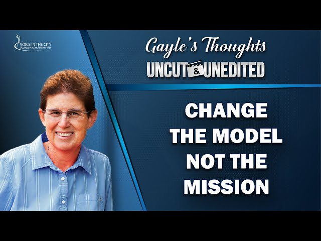 Change the model not the mission | EP41