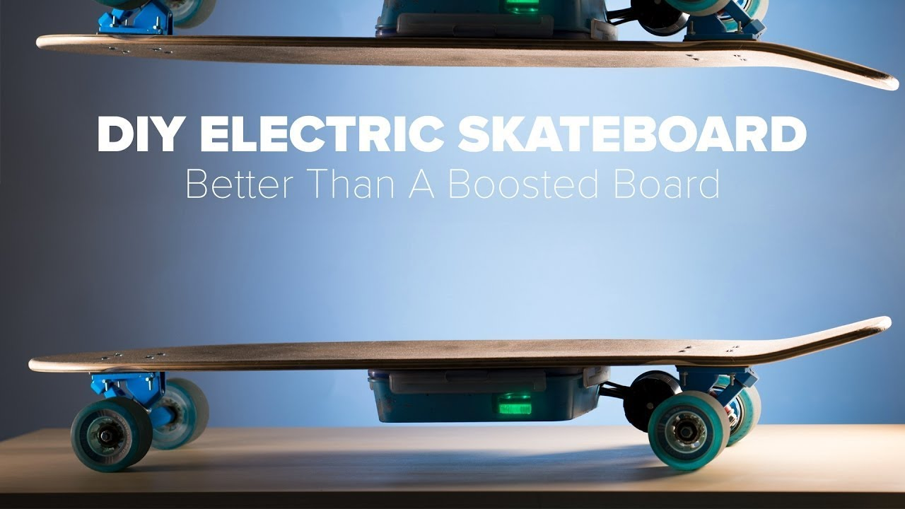DIY Electric Skateboard Build