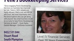 Find bookkeepers at Pene's Bookkeeping Services Adelaide