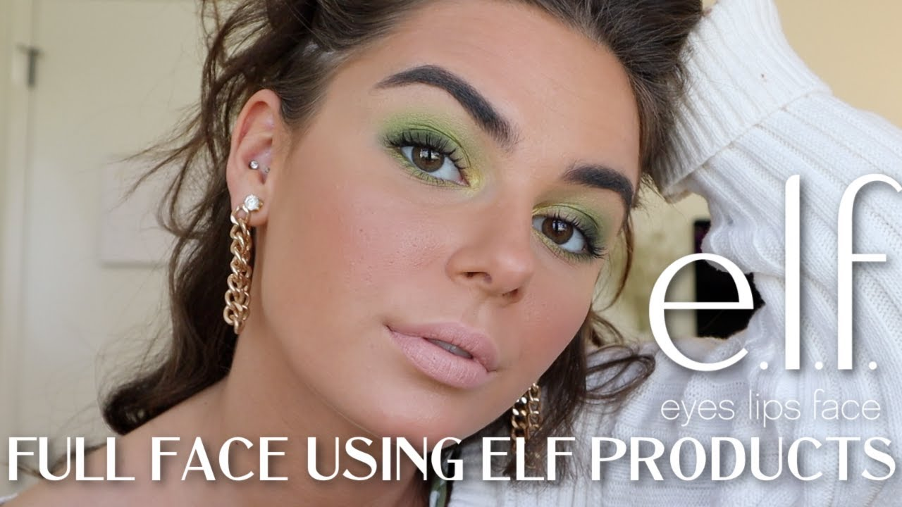 MAKEUP MONDAY: Full Face Using/Testing ELF Products! Under $100    EJB