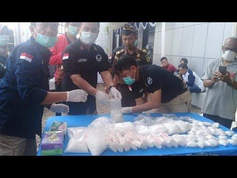 Sabu Senilai Rp 18 Milliar dari Malaysia Dimusnahkan BNN Sulsel Mp3