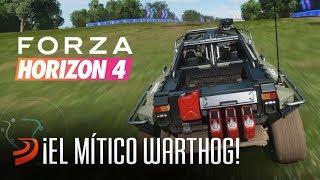 Así es el mítico WARTHOG de Halo en FORZA HORIZON 4