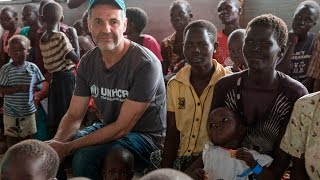 "Khaled Hosseini – ""Take action now for South Sudanese refugees"" – social cut"