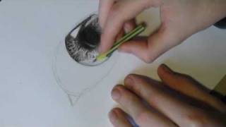 how to draw a realistic eye part 1 the iris