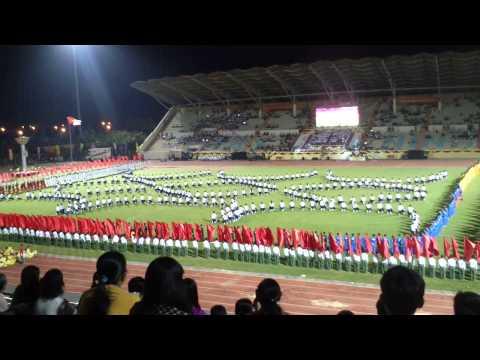Đồng diễn Đại hội TDTT Tây Ninh 2014