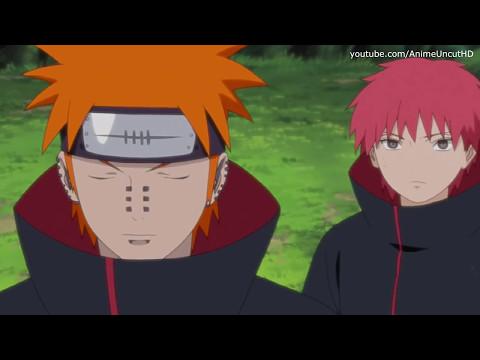 Orochimaru vs Pain & Sasori Sub Español   Naruto Shippuden