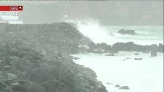 Tempestade Helene está a afastar-se dos Açores