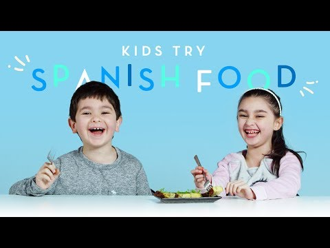 Kids Try Spanish Food | Kids Try | HiHo Kids