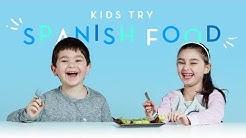Kids Try Spanish Food   Kids Try   HiHo Kids