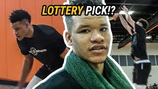 Kevin Knox Is The SLEEPER OF THE DRAFT! All Access At His Pro Day In Front Of NBA SCOUTS 🔥