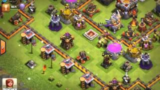 Presentation de village clash of clans plus fort au plus nul